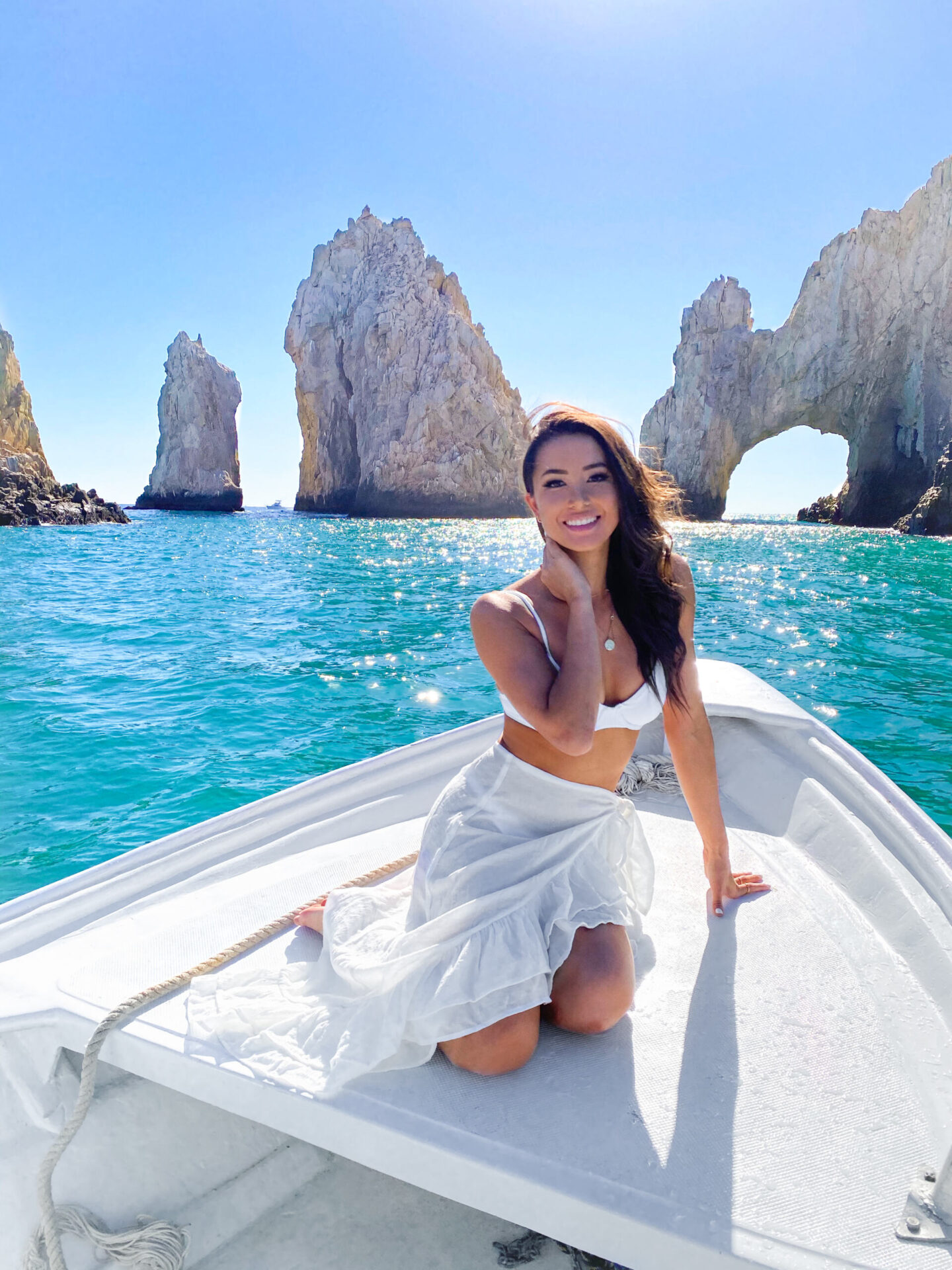 cabo, water taxi, cabo arch, ocean, mexico, travel