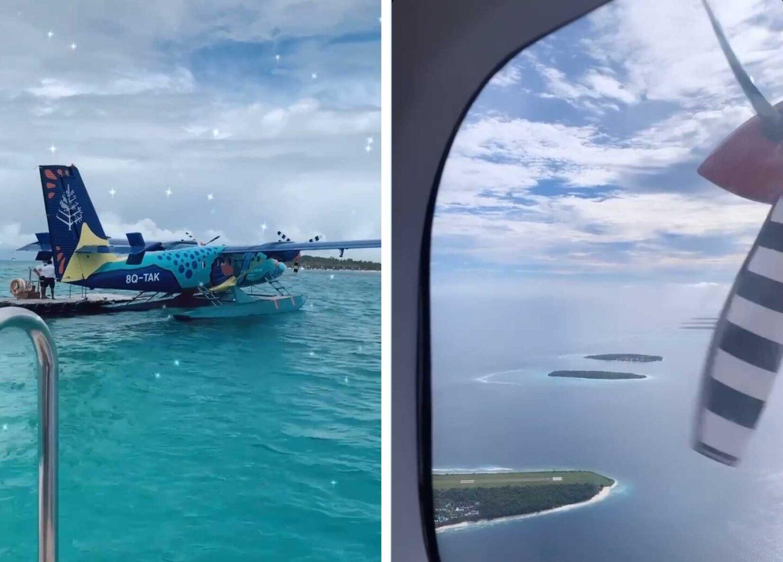 maldives, seaplane, indian ocean, four seasons, triggerfish seaplane